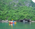 Kayaking at Lan Ha Bay