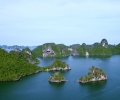 Halong Bay Landscape View