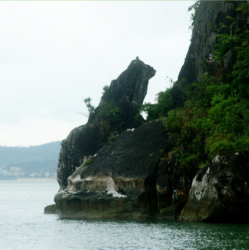 Dog rock, Cho Da Islet, Dog Islet