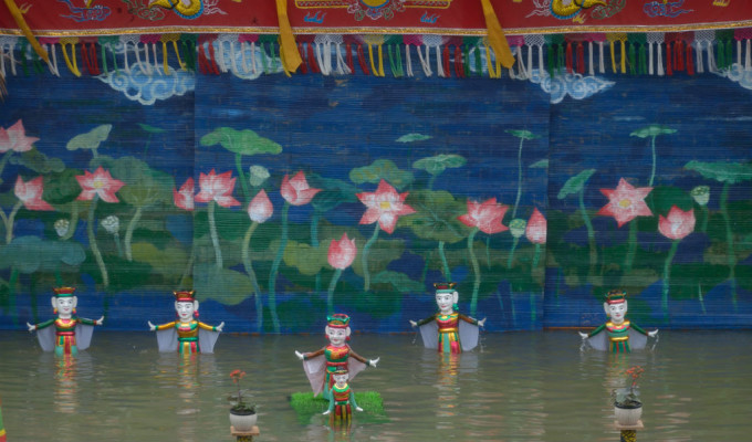 Water-Puppetry-Yen-Duc-village-1